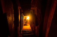 View inside the Vinh Moc tunnel complex, DMZ, Quang Tri Province, Vietnam, Southeast Asia