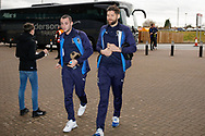 Wimbledon midfielder Anthony Wordsworth (40) arrives  during the EFL Sky Bet League 1 match between Coventry City and AFC Wimbledon at the Ricoh Arena, Coventry, England on 12 January 2019.