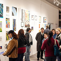 Student's artwork were selling Saturday night at the ART123 Gallery for the opening night of the 5th Annual Yough Art Show in Gallup.