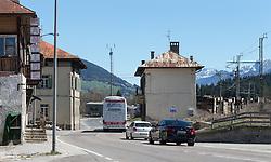 THEMENBILD - Der Grenzübergang an der Grenze zwischen Österreich und Italien, aufgenommen am Mittwoch, 20. April 2016, in Sillian Arnbach. Der Grenzübergang wird aufgrund der Flüchtlingsströme künftig wieder kontrolliert werden // The border crossing on the border between Austria and Italy, taken on Wednesday, April 20, 2016, in San Candido - Prato Drava. The border crossing will be checked again in the future due to the influx of refugees. EXPA Pictures © 2016, PhotoCredit: EXPA/ Johann Groder