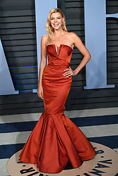 Kelly Rohrbach arriving at the Vanity Fair Oscar Party held in Beverly Hills, Los Angeles, USA.