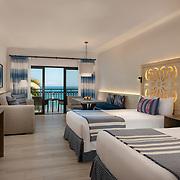 Pueblo Bonito Mazatlan. Room 519 Junior Suite Ocean Front Double.  Photo by: Victor Elias Photography.