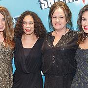 NLD/Amsterdam/20160118 - Premiere Sneekweek, Lola Brood, Brenda van der Biezen, Xandra Brood, Holly Brood