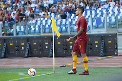 October 20, 2018 - Rome, Lazio, Italy - Lorenzo Pellegrini during the Italian Serie A football match between A.S. Roma and Spal at the Olympic Stadium in Rome, on october 20, 2018. (Credit Image: © Silvia Lore/NurPhoto via ZUMA Press)