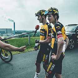 WIJSTER (NED) June 20: <br /> CYCLING <br /> Dutch Nationals Road up and around the Col du VAM. Race Impressions