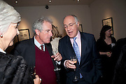 WILLIAM WALDEGRAVE; MICHAEL HOWARD, Literary charity First Story fundraising dinner. Cafe Anglais. London. 10 May 2010. *** Local Caption *** -DO NOT ARCHIVE-© Copyright Photograph by Dafydd Jones. 248 Clapham Rd. London SW9 0PZ. Tel 0207 820 0771. www.dafjones.com.<br /> WILLIAM WALDEGRAVE; MICHAEL HOWARD, Literary charity First Story fundraising dinner. Cafe Anglais. London. 10 May 2010.