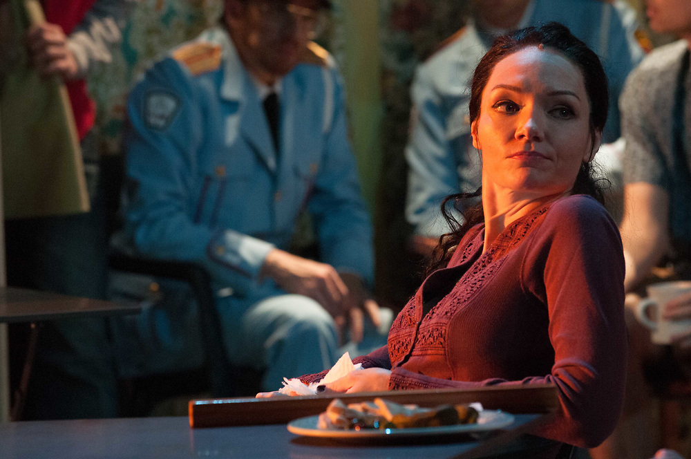 Katrina Lenk: The Band's Visit - Behind the scenes and Production photos from the original Atlantic Theater Company Off Broadway production