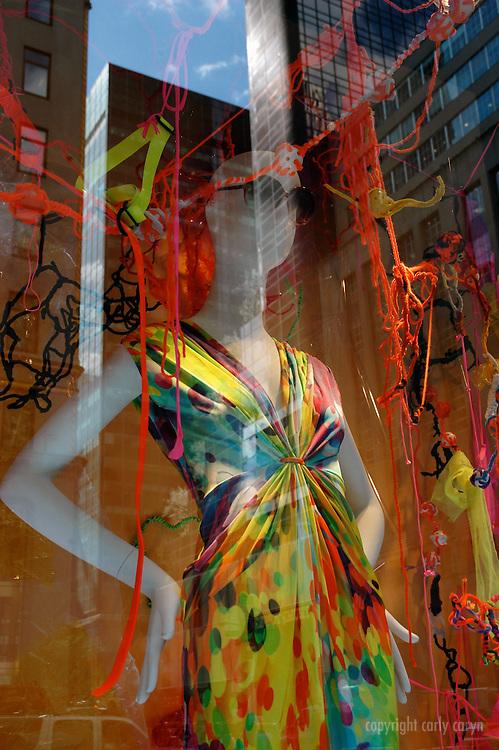 Bergdorf Goodman spring, psychedelic rainbow