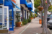 Stores and Shops on Avenida Del Mar, San Clemente, Orange County, California, USA