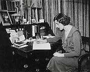 E.M. Delafield, (Edmée Elizabeth Monica Dashwood), author, England, UK, 1923