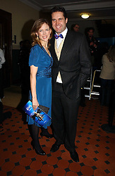 News reader KATIE DERHAM and her husband JOHN VINCENT at the opening night of Cirque Du Soleil's 'Alegria' held at the Royal Albert, London on 5th January 2007.<br /><br />NON EXCLUSIVE - WORLD RIGHTS