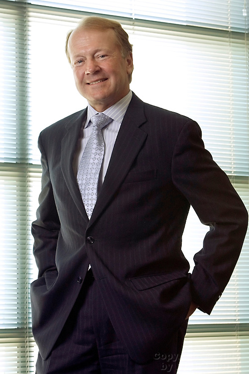 John Chambers, Chief Executive Officer of Cisco Systems, at the Cisco Headquarters in San Jose, California, July 9, 2007...Photo by Erin Lubin/WpN
