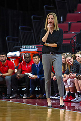 NORMAL, IL - October 30: Kristen Gillespie during a college women's basketball game between the ISU Redbirds and the Lions on October 30 2019 at Redbird Arena in Normal, IL. (Photo by Alan Look)