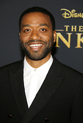 Chiwetel Ejiofor at the World premiere of 'The Lion King' held at the Dolby Theatre in Hollywood, USA on July 9, 2019.