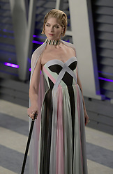 February 24, 2019 - Beverly Hills, California, U.S - Salma Blair on the red carpet of the 2019 Vanity Fair Oscar Party held at the Wallis Annenberg Center in Beverly Hills, California on Sunday February 24, 2019. JAVIER ROJAS/PI (Credit Image: © Prensa Internacional via ZUMA Wire)