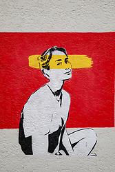Aung San Suu Kyi Mural