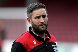 Bristol City head coach Lee Johnson arrives at Glanford Park for the EFL Cup fixture with Scunthorpe United - Mandatory by-line: Robbie Stephenson/JMP - 23/08/2016 - FOOTBALL - Glanford Park - Scunthorpe, England - Scunthorpe United v Bristol City - EFL Cup second round