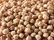 whole dried chic peas - stock photos