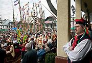 Lipnica Murowana, 2010-03-28. Konkurs palm wielkanocnych w Niedzielę Palmową w Lipnicy Murowanej