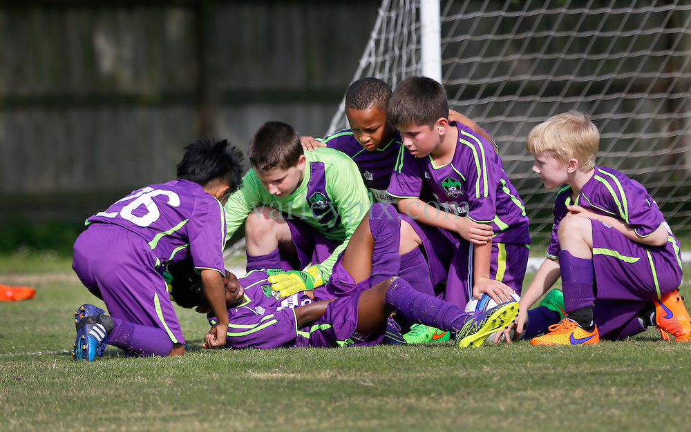 05 December 2015. Missouri City, Texas. <br /> Eclipse Soccer Club, 8th Annual Academy Cup - Toby Lazor Classic.<br /> New Orleans Jesters Youth Academy U10 Purple vs ID Total Football Club Orange 06B.<br /> Jesters 1 - Total 3 <br /> Photo©; Charlie Varley/varleypix.com