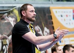 11.03.2017, Halle Hollgasse, Wien, AUT, HLA, SG INSIGNIS Handball WESTWIEN vs HC Fivers WAT Margareten, Oberes Playoff, 5. Runde, im Bild Trainer Hannes Jon Jonsson (SG INSIGNIS Handball WESTWIEN) // during Handball League Austria, 5 th round match between HC Fivers WAT Margareten and SG INSIGNIS Handball WESTWIEN at the Halle Hollgasse, Vienna, Austria on 2017/03/11, EXPA Pictures © 2017, PhotoCredit: EXPA/ Sebastian Pucher