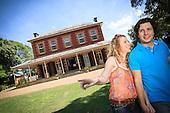 Couple Exploring Australian Homestead