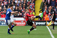 Harry Chapman of Sheffield United during the English League One match at Bramall Lane Stadium, Sheffield. Picture date: April 30th, 2017. Pic credit should read: Jamie Tyerman/Sportimage