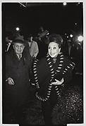 Joey Adams, Cindy Adams , Cher party, Manhattan. 1988
