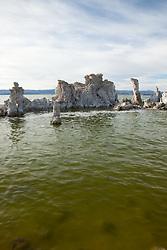 """Tufas at Mono Lake 7"" - These tufas were photographed at the South Tufa area in Mono Lake, California."