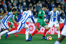 November 23, 2018 - Leganes, MADRID, SPAIN - Iabi of Alaves during the Spanish Championship La Liga football match between CD Leganes and Deportivo Alaves on November 23th, 2018 at Estadio de Butarque in Leganes, Madrid, Spain. (Credit Image: © AFP7 via ZUMA Wire)