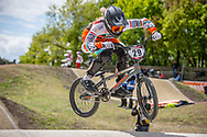 #29 (HUISMAN Ruby) NED at Round 4 of the 2019 UCI BMX Supercross World Cup in Papendal, The Netherlands