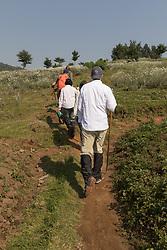 Walking To Start Of Treck