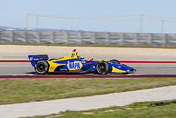 February 12, 2019 - Austin, Texas, U.S. - ALEXANDER ROSSI (27) of the United States goes through the turns during practice for the IndyCar Spring Test at Circuit Of The Americas in Austin, Texas. (Credit Image: © Walter G Arce Sr Asp Inc/ASP)