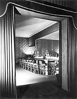 1949 Interior of Ciro's Nightclub on Sunset Blvd