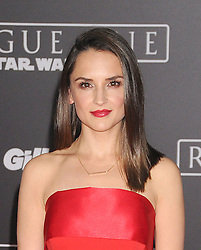 December 10, 2016 - Los Angeles, CA, United States of America - Rachel Leigh Cook arriving at the Star Wars ''Rogue One'' World Premiere at the Pantages Theater on December 10 2016 in Hollywood, CA  (Credit Image: © Famous/Ace Pictures via ZUMA Press)