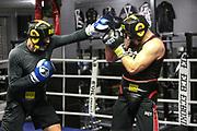BOXEN: EC Boxing, Hamburg, 03.01.2020<br /> Danilo Milacic beim Sparring<br /> © Torsten Helmke
