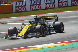 May 11, 2019 - Barcelona, Catalonia, Spain - Renault driver Daniel Ricciardo (3) of Australia during F1 Grand Prix qualifying celebrated at Circuit of Barcelona 11th May 2019 in Barcelona, Spain. (Credit Image: © Mikel Trigueros/NurPhoto via ZUMA Press)