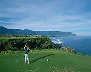 golf, Princeville, Makai Course, Kauai, Hawaii, USA<br />