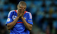Thierry Henry (FRA) nach einer verpassten Chance. © Manu Friederich/EQ Images