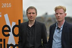 2016 Edinburgh International Film Festival, Alex Kapranos (Musician) and Niall McCann (Director) during the WORLD PREMIERE (DOCUMENTARY) LOST IN FRANCE, The Apex Hotel Grassmarket, Edinburgh16th June 2016, (c) Brian Anderson   Edinburgh Elite media