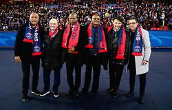 March 7, 2018 - Paris, France - Bernard Lama - Kholer - Laurent Fournier - Antoine Kombouare - Amara Simba - Vincent Guerin (Credit Image: © Panoramic via ZUMA Press)
