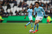 Manchester City midfielder Leroy Sane (19) during the Premier League match between West Ham United and Manchester City at the London Stadium, London, England on 29 April 2018. Picture by Toyin Oshodi.