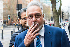 2017-12-07 Vijay Mallya arrives at court as extradition hearing continues