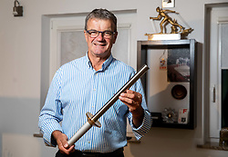 Ivo Carman, Slovenian Olympic torch bearer, he competed at Winter Olympics in Lake Placid 1980 and in Sarajevo 1984, portrait made on August 13, 2020 in Sveti Duh, Skofja Loka, Slovenia. Photo by Vid Ponikvar / Sportida