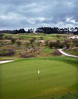 WASSENAAR - Haagsche Golfclub, green hole 5. COPYRIGHT KOEN SUYK