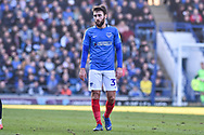 Portsmouth Midfielder, Ben Close (33) during the EFL Sky Bet League 1 match between Portsmouth and Barnsley at Fratton Park, Portsmouth, England on 23 February 2019.