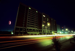 High rise commercial building located in the Eastern Province of Saudi Arabia.