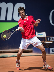 03.08.2013, Sportpark, Kitzbuehel, AUT, ATP World Tour, bet at home Cup 2013, Finale Einzel, im Bild Marcel Granollers (ESP) // Marcel Granollers of Spain during single Final of bet at home Cup 2013 tennis tournament of the ATP World Tour at the Sportpark in Kitzbuehel, Austria on 2013/08/03. EXPA Pictures © 2013, PhotoCredit: EXPA/ Johann Groder