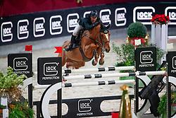Hutton Samuel, GBR, Happydam<br /> MEVISTO Amadeus Horse Indoor Salzburg<br /> © Hippo Foto - Stefan Lafrentz<br /> 11-12-2016