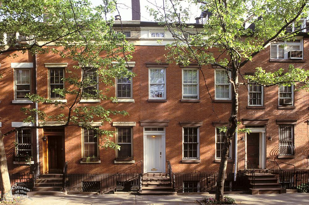 Bank Street, Greenwich Village, Manhattan, New York